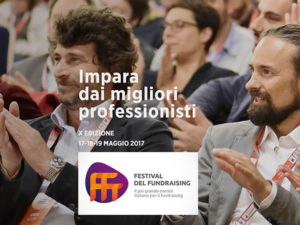 Parteciperò anch'io all'evento più importante del fundraising italiano